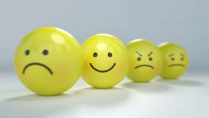 emojis reflecting a variety of emotions